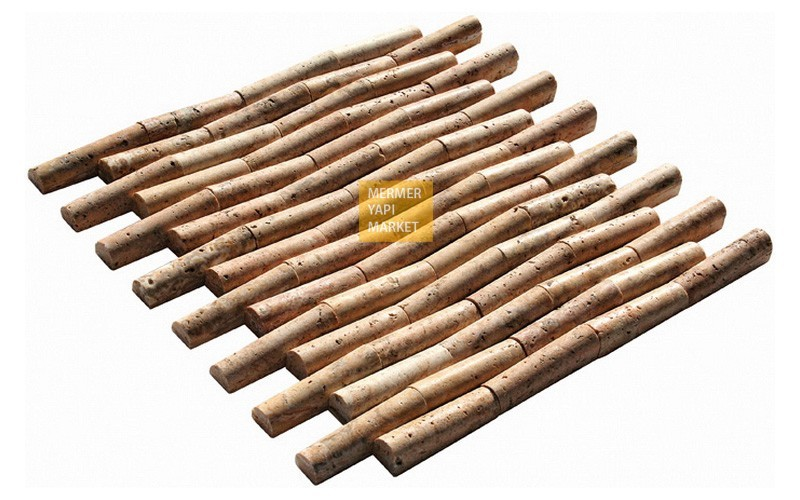 Scabas Traverten Bambu