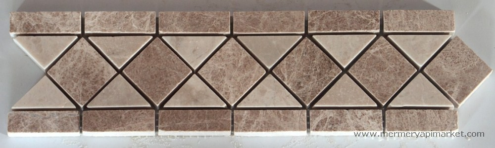 Emperador - Beige Border - Polished