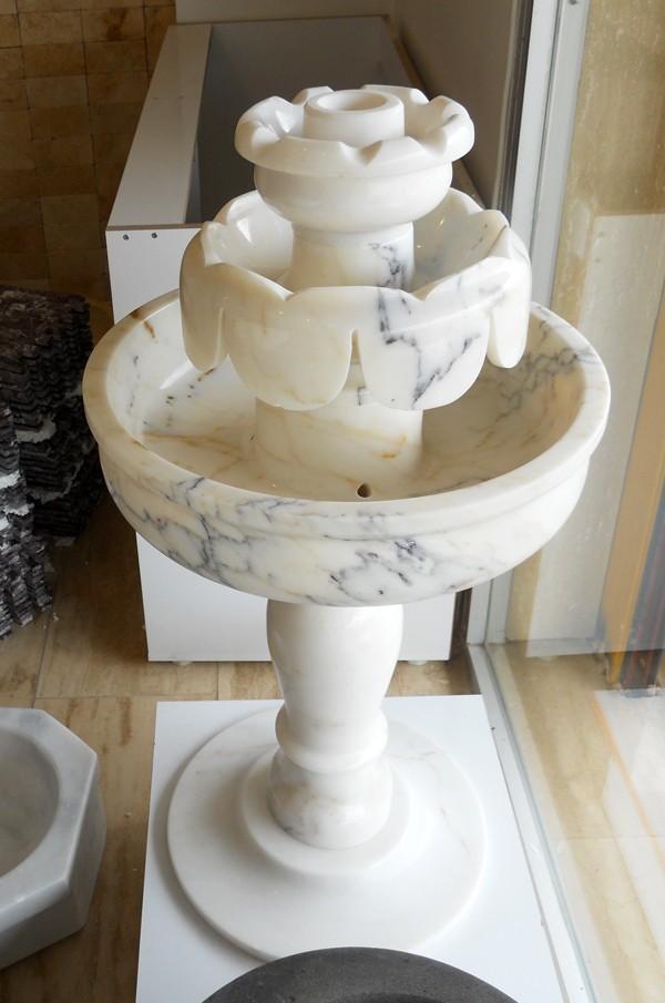 Mermer Fıskiye Beyaz