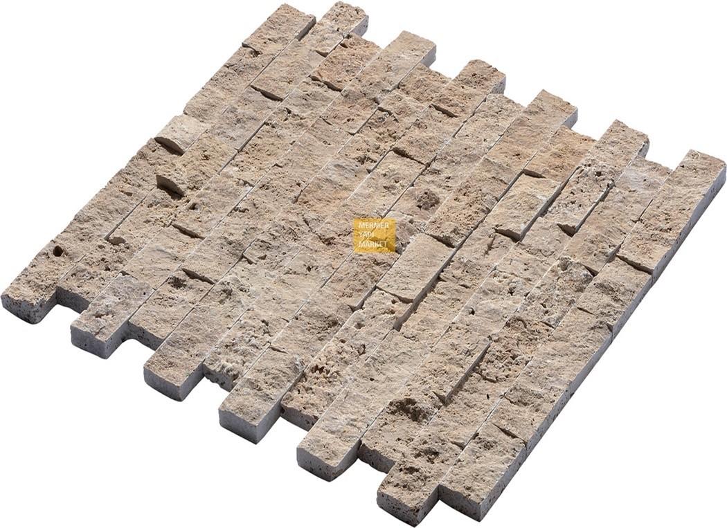 Noçe Traverten Patlatma Mozaik