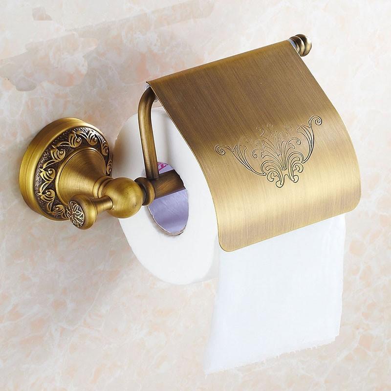 Antik Eskitme Tuvalet Kağıtlık
