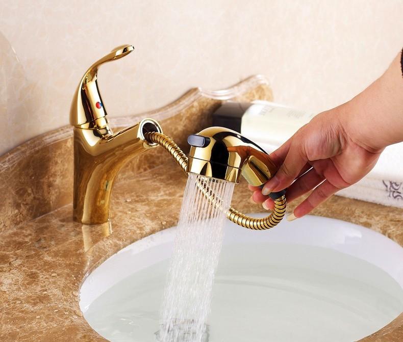 Altın Kaplama Banyo Bataryası