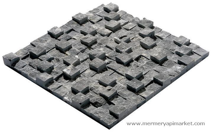 Toros Siyah 3 Boyut Patlatma Mozaik
