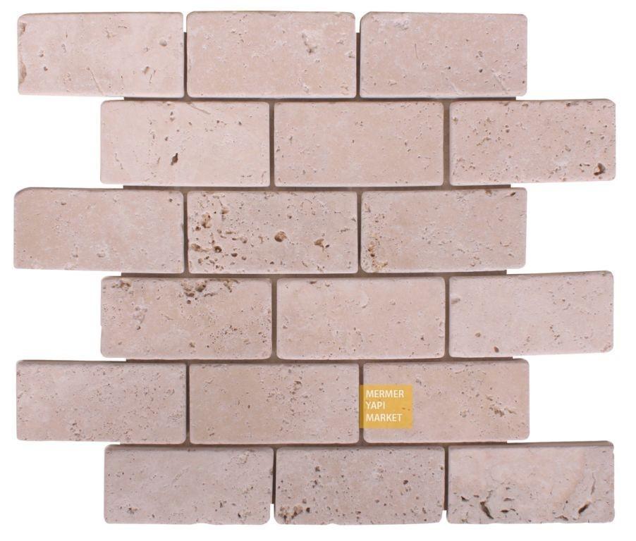 5x10 Traverten Mozaik
