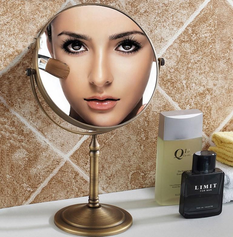 Eskitme Modern Makyaj Aynası