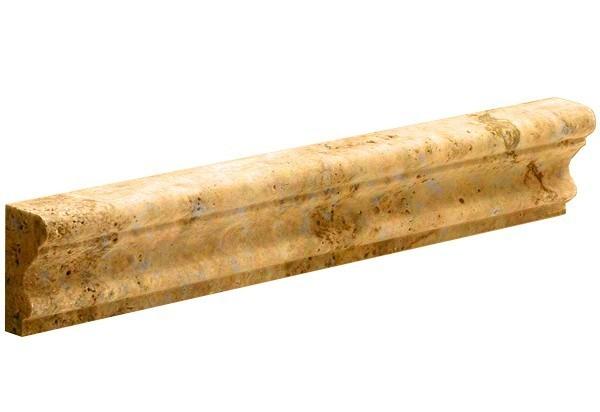 Gold Traverten Profil - CROWN