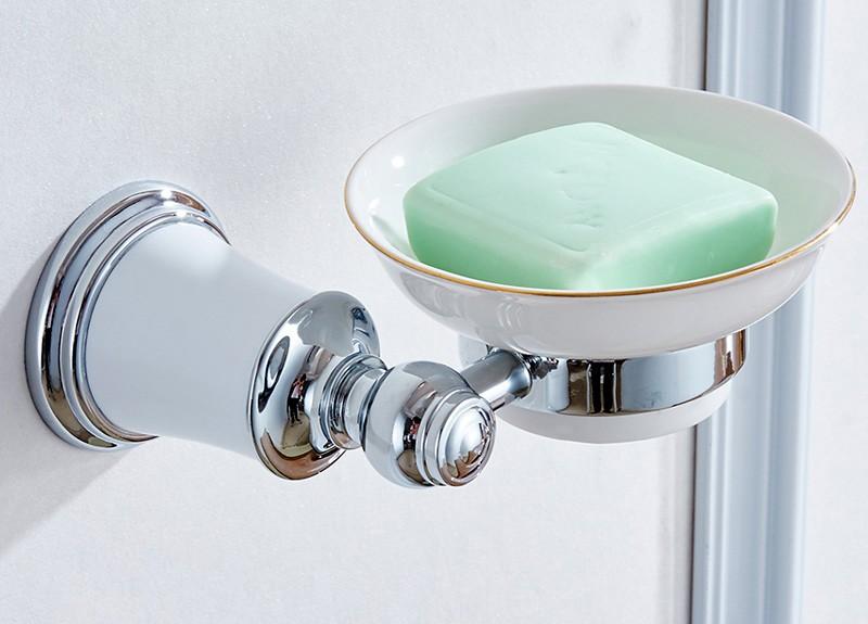 Krom İşlemeli Sabunluk