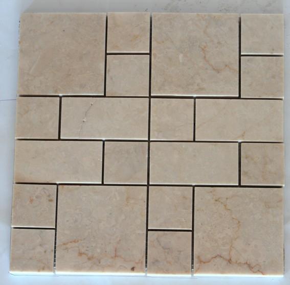 Bej Mermer Set Mozaik