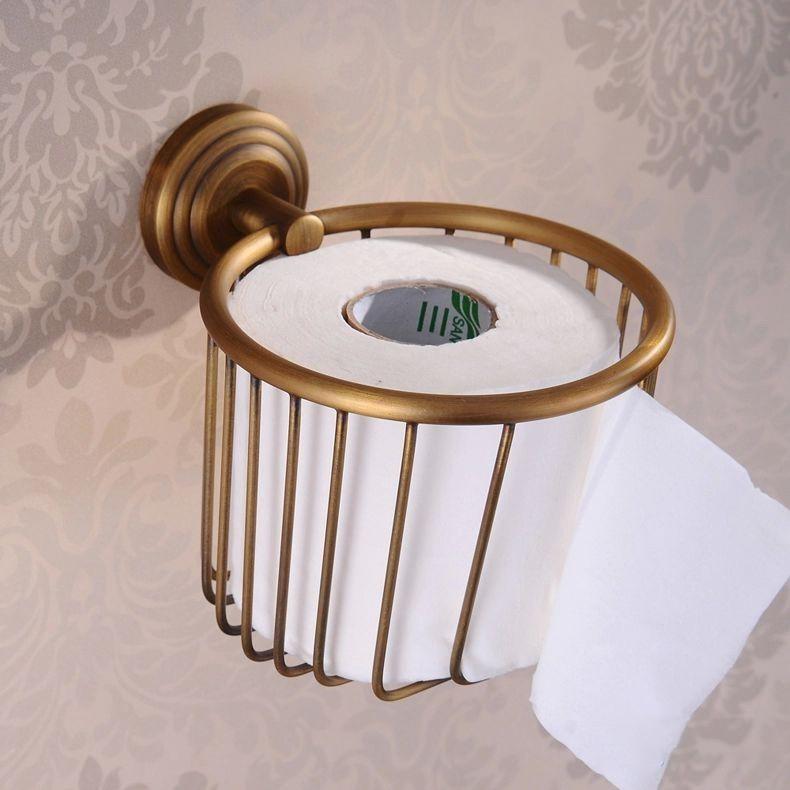 Eskitme Duvara Monte Tuvalet Kağıdı Yuvası