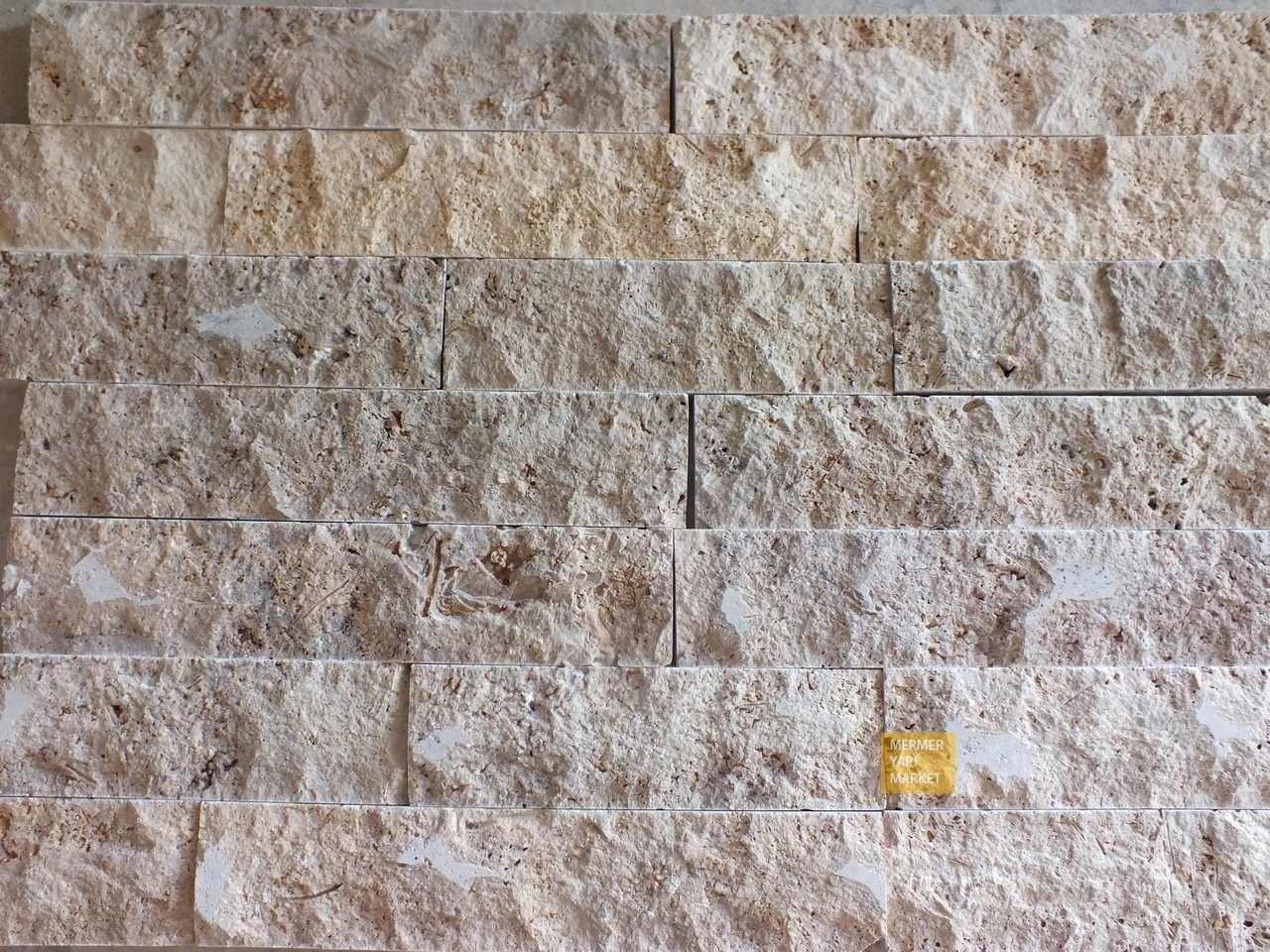 Rustik Traverten Patlatma Mozaik