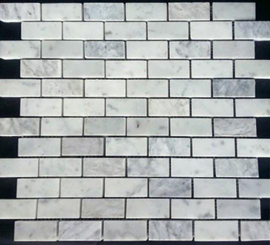 Muğla Beyaz Mermer Cilalı Mozaik
