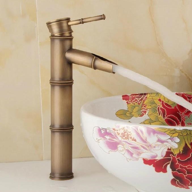 Antik Eskitme Banyo Lavabo Bataryası