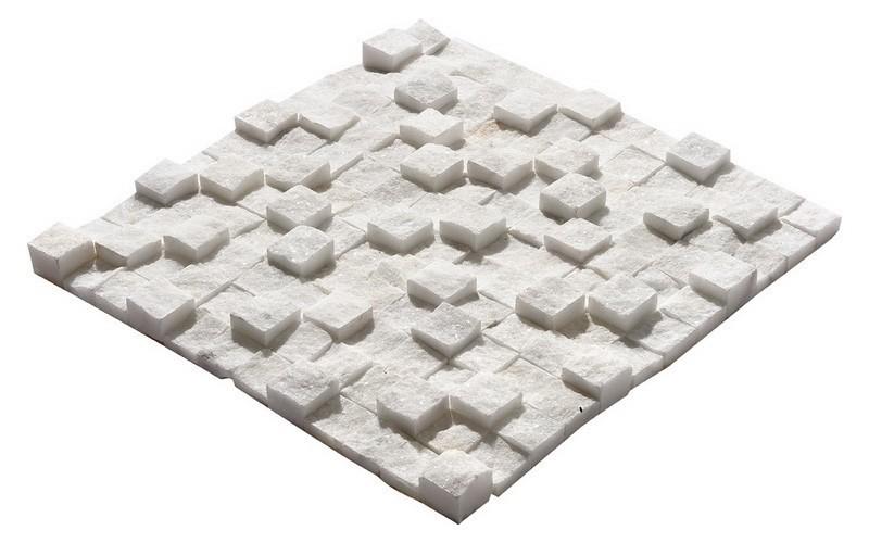 Uşak Beyazı Küp Mozaik
