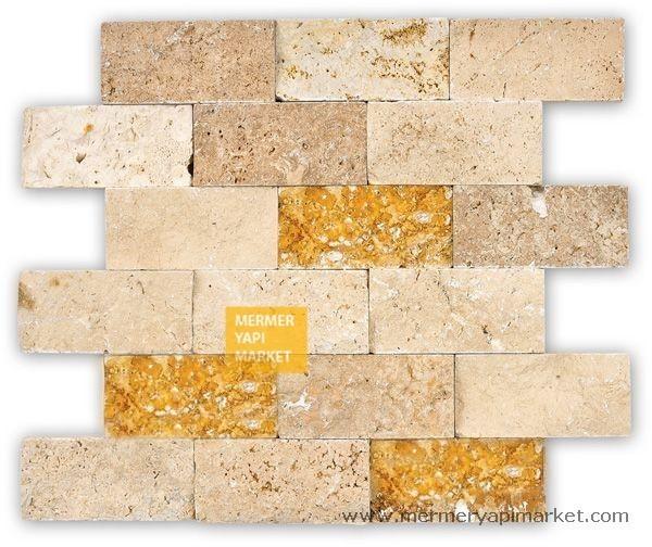 Mix Sarı Noçe Klasik Patlatma Mozaik