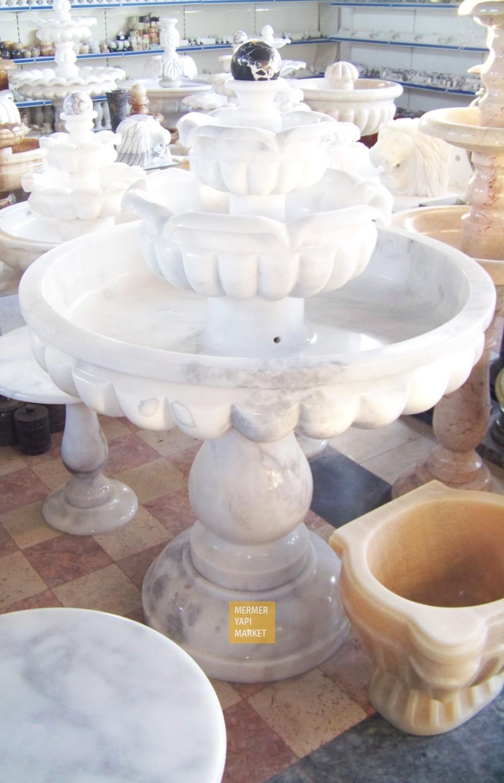 Mermer Fıskiye İşlemeli Model