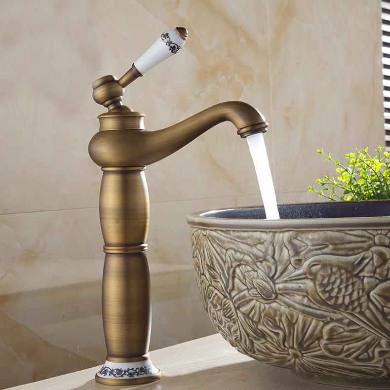 Modern Eskitme Banyo Lavabo Bataryası