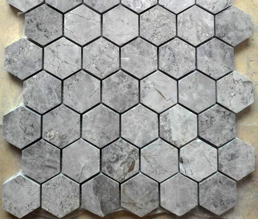 Tundra Grey Altıgen Mozaik