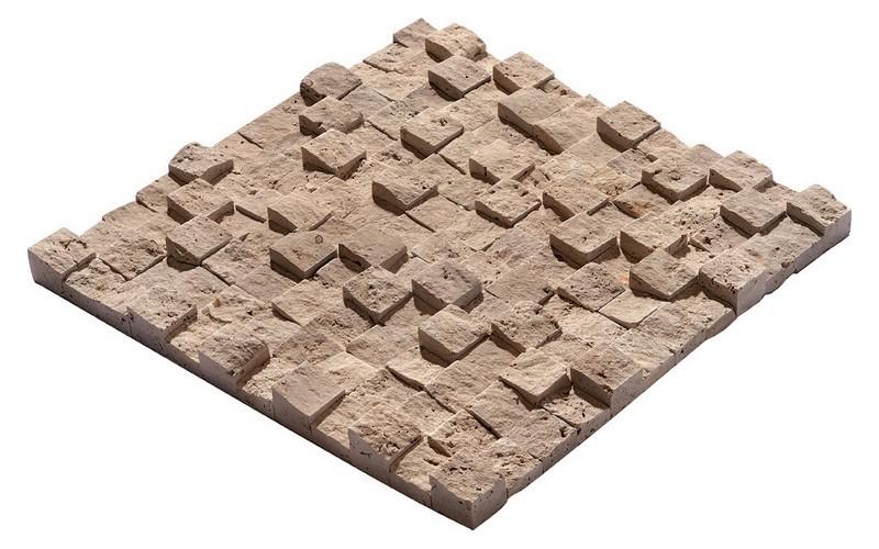 Noçe Traverten Küp Mozaik