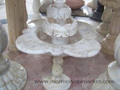 Mermer Fıskiye Papatya Yaprak Modeli