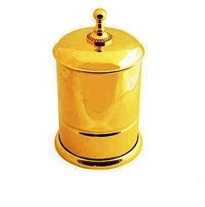 Altın Kaplama Çöp Kovası
