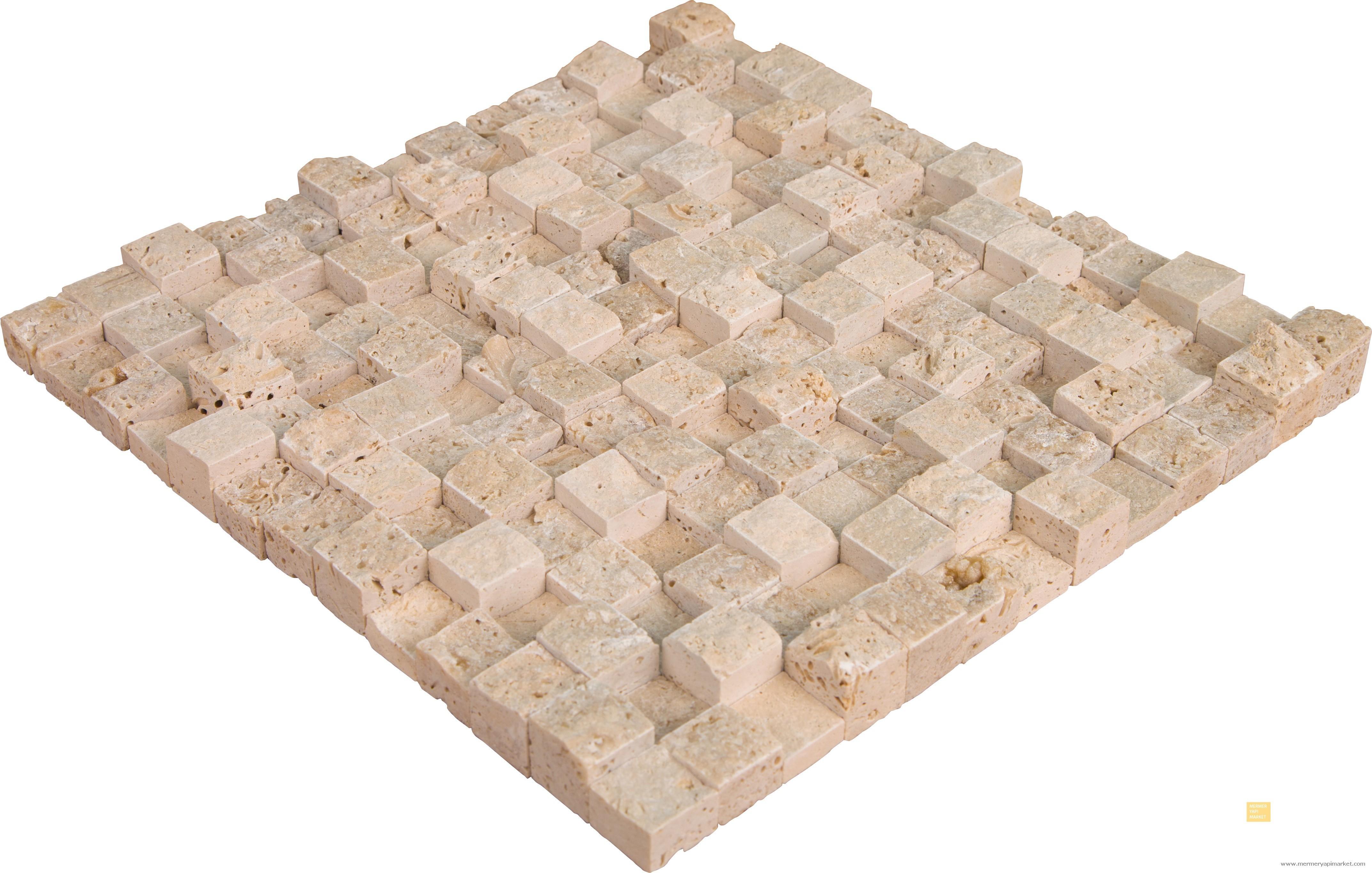 3 Boyutlu Kubik Patlatma Mozaik