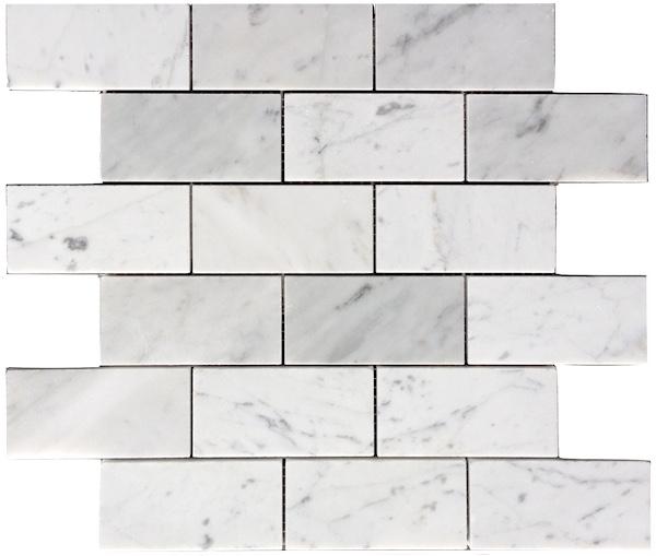 Beyaz  Mermer Grili Mozaik