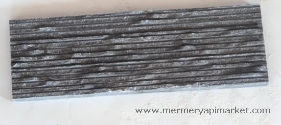 Siyah  Mermer Çırpma Mozaik