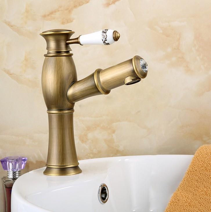 Modern Eskitme Banyo Armatürü